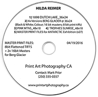 Back-up Disc, Image Files