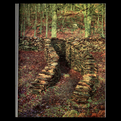 "Dry Stone Passage"" Richard Harris, 1982, Grizedale"